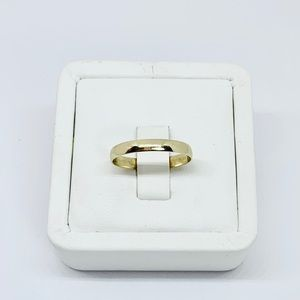 Jewelry - Real 10k Gold Band Ring Wedding Stackable Thumb